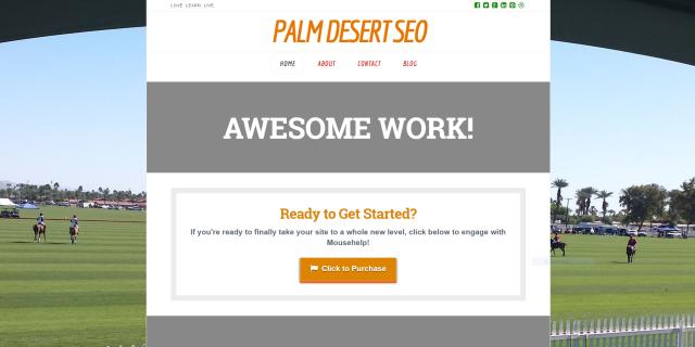 Palm Desert SEO